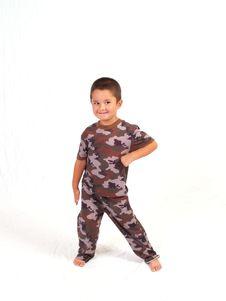 Camo Boy Royalty Free Stock Image