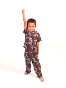 Free Camo Boy Royalty Free Stock Images - 3067149