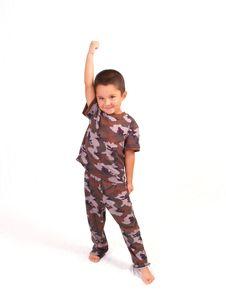 Free Camo Boy Stock Photo - 3067150