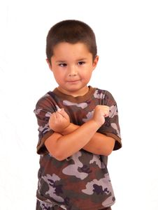 Free Camo Boy Stock Photos - 3067153