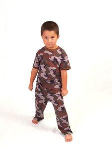 Free Camo Boy Royalty Free Stock Photos - 3067158