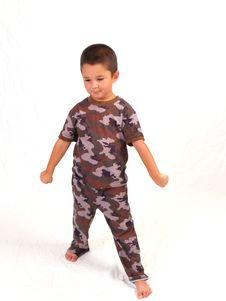 Free Camo Boy Royalty Free Stock Images - 3067169