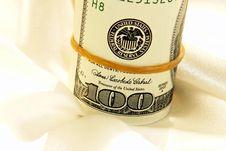 Bank Roll Stock Image