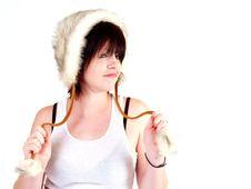 Free Brunette Rocker Girl Stock Images - 3067914