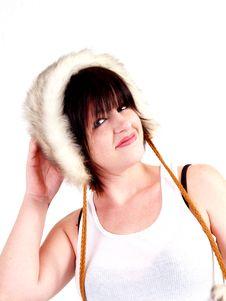 Free Brunette Rocker Girl Stock Photography - 3068142
