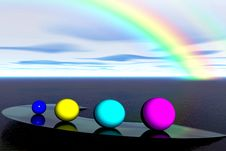 Free Color Balls Royalty Free Stock Images - 3069189
