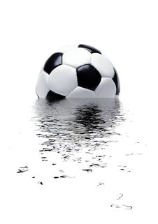 Free Football And Water Royalty Free Stock Photos - 3069668
