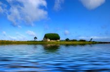 Free Wee House Near Water Stock Photo - 3069990