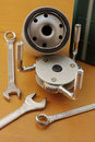 Free Oil Filter Wrench Stock Photography - 30601722