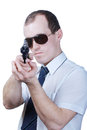 Free Professional Man With Gun Royalty Free Stock Photo - 30605415