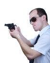 Free Professional Man With Gun Stock Photos - 30605543