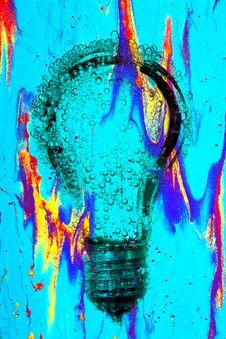 Free Electric Light Bulb Abstract Royalty Free Stock Photo - 30601475