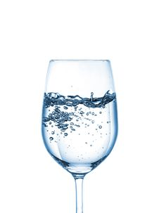 Free Glass Of Water Royalty Free Stock Photos - 30603278