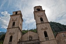 Kotor S Old Town Royalty Free Stock Photos