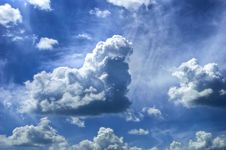 Free Clouds Royalty Free Stock Photo - 30603885