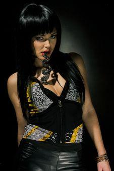 Free Portrait Of Brunette Girl Stock Photography - 30605712
