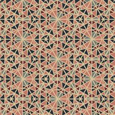 Free Seamless Abstract Vintage Pattern Royalty Free Stock Images - 30607649