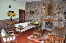 Rustic Livingroom Royalty Free Stock Image