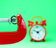 Free Euro Under Pressure Stock Images - 30609864