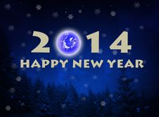 2014 Happy New Year Royalty Free Stock Images