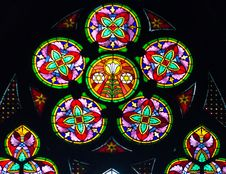 Free Stained Glass Window Stock Photo - 30612300