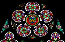 Free The Stained Glass Window Royalty Free Stock Photo - 30612305