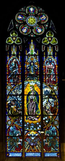 Free The Stained Glass Window Royalty Free Stock Images - 30612319