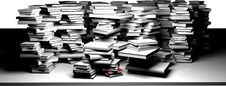 Free Book Pile Royalty Free Stock Photography - 30616367