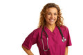 Free Happy Beautiful Female Healthcare Practitioner Stock Image - 30620131