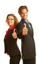 Free Confident Business Man Giving The Big Thumbs Up Stock Photo - 30620180