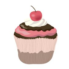 Free Chocolate Cupcake Royalty Free Stock Image - 30622586