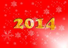 2014 Happy New Year Stock Photos