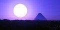 Free Pyramid 01 Royalty Free Stock Photography - 30633207