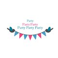Free Birds Holding Bunting For Party Stock Photos - 30635063