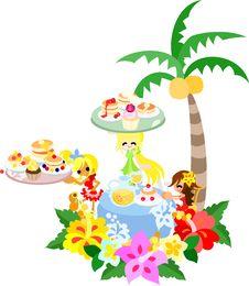 Free Hawaiian Pancake Cafe-2 Stock Image - 30630851