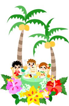 Free Hawaiian Pancake Cafe-3 Stock Photo - 30630860