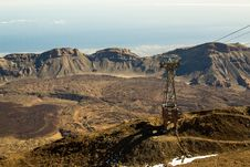 Free Tenerife Island. The View From Teide Volcano Royalty Free Stock Photos - 30634558