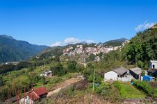 Free View Of Sapa City. Vietnam Royalty Free Stock Photos - 30636988