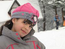 Free Little Girl In Ski Suit Stock Photos - 30640363