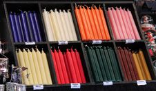 Free Wax Candles. Stock Image - 30646761