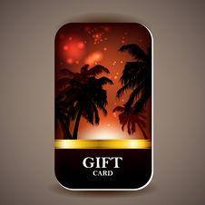 Free Gift Card Royalty Free Stock Photos - 30648078