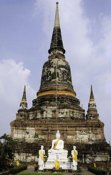 Free Old Temple Wat Yai Chai Mongkhon, Ayuthaya Province, Thailand Royalty Free Stock Image - 30648516