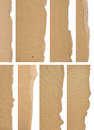 Free Set Of Textured Cardboard With Torn Edges Stock Photography - 30656472