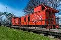 Free Old Orange Train Stock Photos - 30656723
