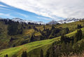 Free Beautiful Landscape With Alpine Meadows Royalty Free Stock Photo - 30657845