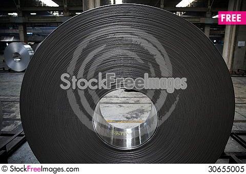 Free Aluminum Coil Royalty Free Stock Photo - 30655005