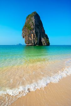 Free Tropical Beach Landscape. Thailand Royalty Free Stock Photography - 30653637