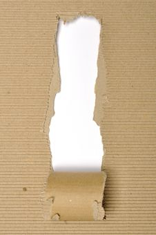 Free Textured Cardboard With Torn Edges Stock Photos - 30656543