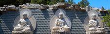 Free Sakyamuni, Amitabha, Medicine Guru Buddha. Royalty Free Stock Photography - 30665197