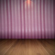 Free Vintage Pink Wallpaper Room Interior Royalty Free Stock Image - 30666306